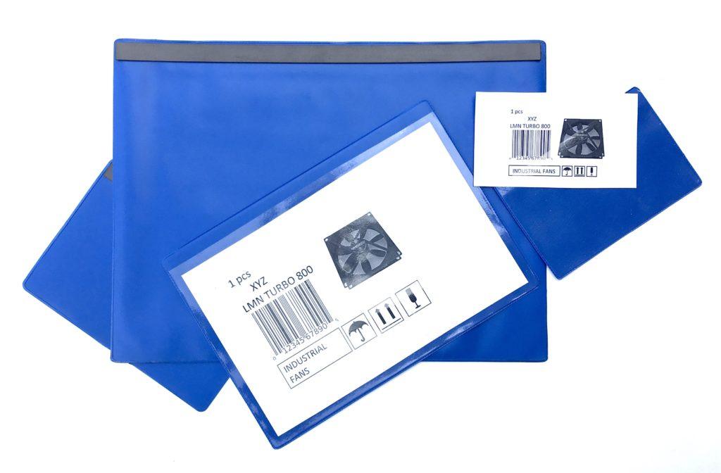Plastové magnetické pouzdro - modré